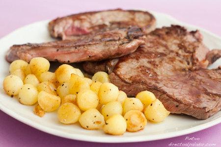 Cómo hacer patatas noisette