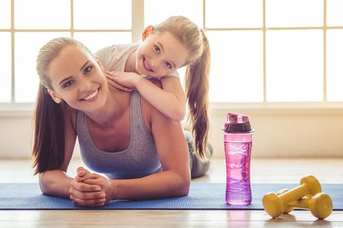 Una rutina de entrenamiento que podemos hacer con los niños en casa durante la cuarentena