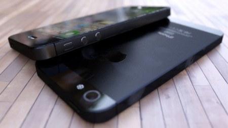 Aspecto que podría tener el nuevo iPhone, en negro