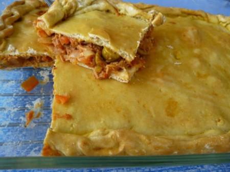 Empanada De Atun Y Huevo Casera
