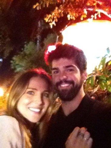 Elsa Pataky y Miguel Angel Muñoz, amigos y residentes en Los Angeles
