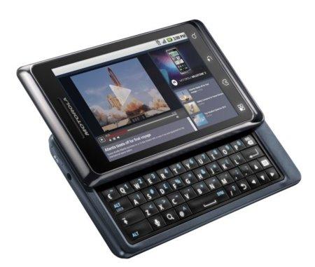 Motorola Milestone 2 con teclado
