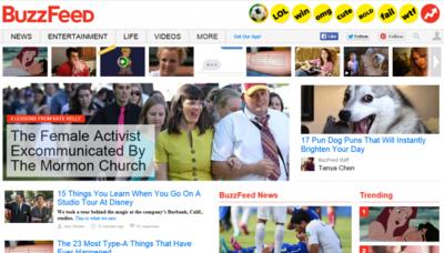 BuzzFeed usa sus tests para recolectar datos personales
