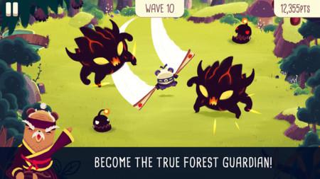 Bushido Bear, un nuevo juego para iOS que te convierte en un oso ninja