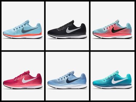 Llegan las nuevas Nike Airzoom Pegasus 34: zapatillas versátiles con un diseño renovado