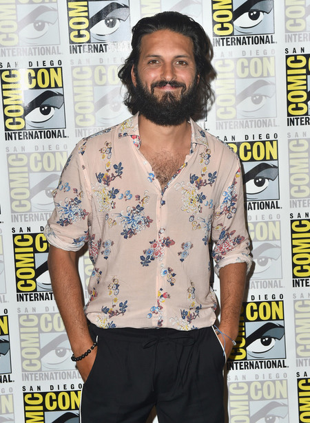 Shazad Latif Comic Con International 2018