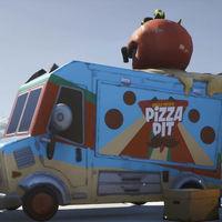 Desafío Fortnite: visita distintas camionetas de comida. Solución