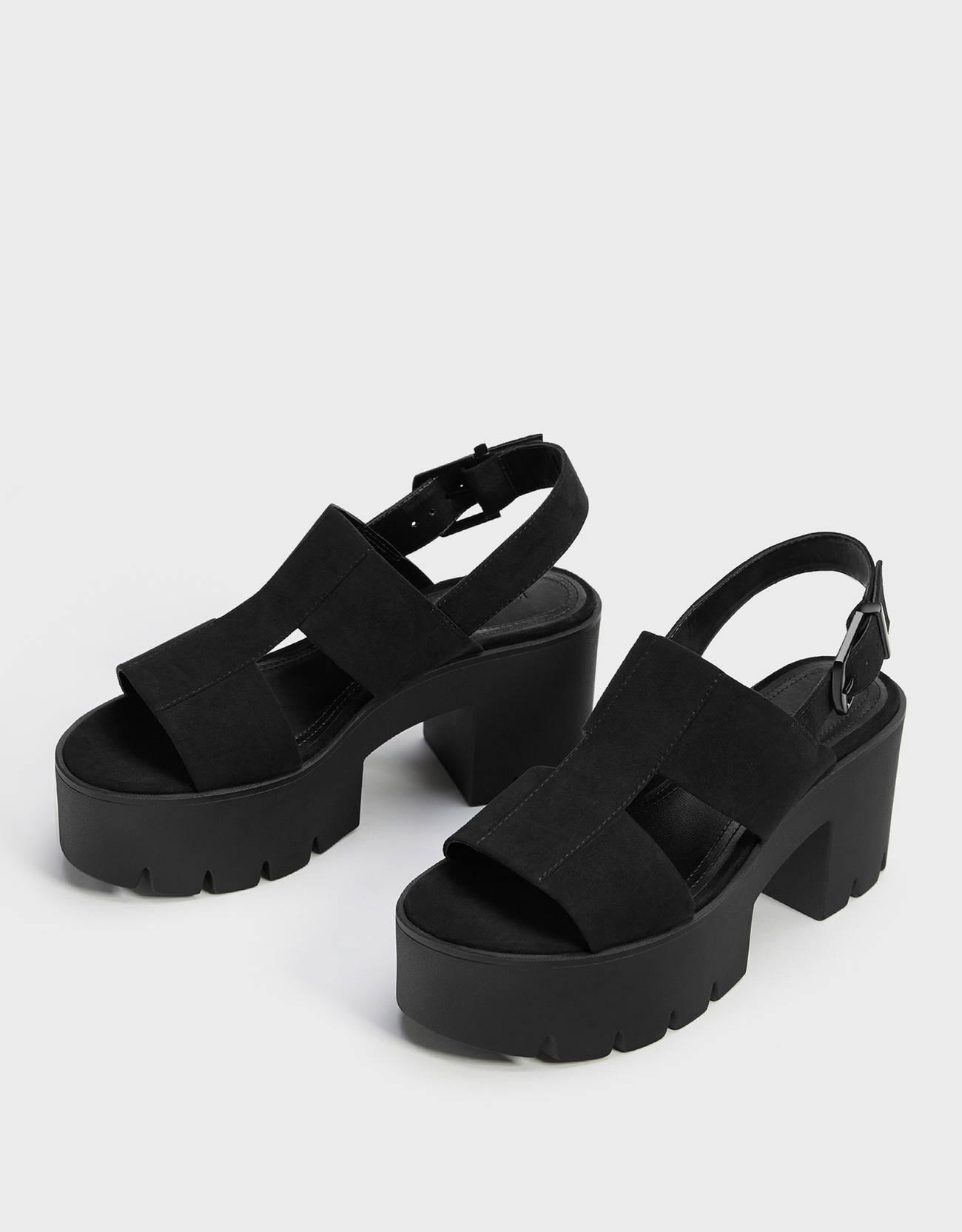 Sandalias de plataforma y suela chunky