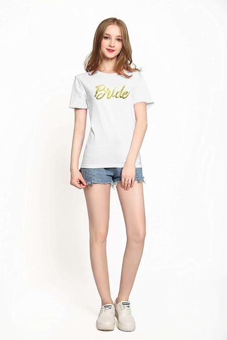 Camiseta Bride Dorado