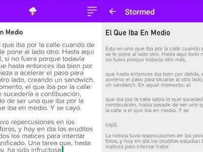 """Storm it es una aplicación para mandar """"Tweetstorms"""" (una ristra de tuits) fácilmente"""