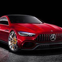 Mercedes-AMG GT Sedán Concept: el nuevo cuatro puertas de 805 hp de la familia AMG GT
