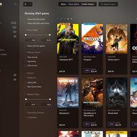 GOG Galaxy 2.0 habilitará la opción de comprar los juegos de Epic Games Store desde su aplicación