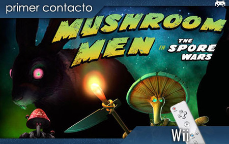 'Mushroom Men: The Spore Wars'. Primer contacto