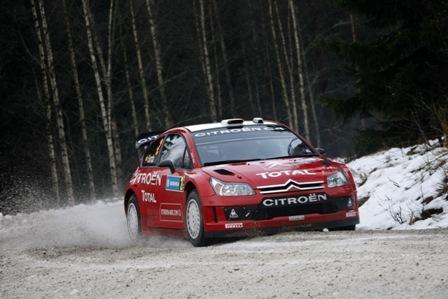 Sensacional actuación de Dani Sordo sobre la nieve sueca