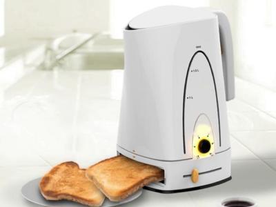 Tostadora y cafetera, el dos en uno perfecto para empezar bien la mañana