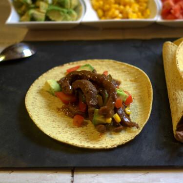 Tacos mexicanos de ternera, la receta perfecta para la cena, (cuando no tienes ganas de hacer nada más)