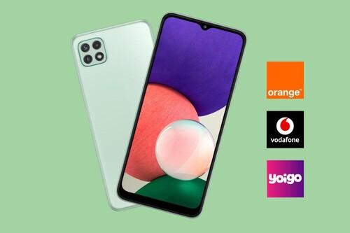 Dónde comprar el Samsung Galaxy A22 5G más barato: comparativa ofertas con Vodafone, Orange y Yoigo