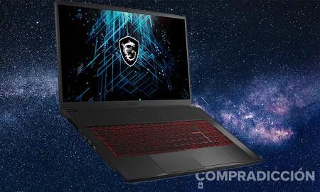 Este portátil gaming de 17 pulgadas con RTX 3060 cuesta 250 euros menos en PcComponentes: MSI GF75 Thin 10UE-017XES por 1.249 euros