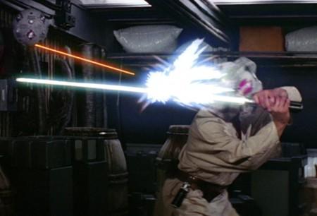 Disney patenta un sable láser con el que jugar a ser un Jedi desviando rayos de luz