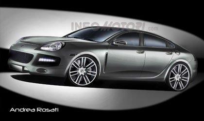 El Porsche Panamera según Infomotori