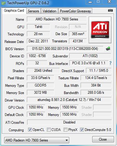 AMD 7970 GHz. Edition