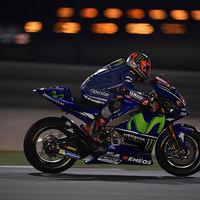 Las Yamaha mandan en el segundo día en Catar con Maverick Viñales a la cabeza