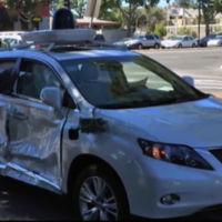 Otro coche autónomo de Google involucrado en un accidente (y tampoco ha sido su culpa)