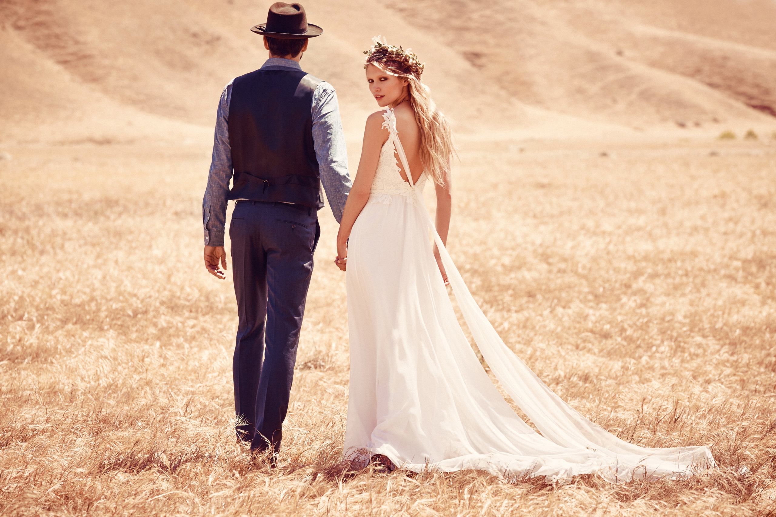 Free People Bohemian Bridal Collection 2015
