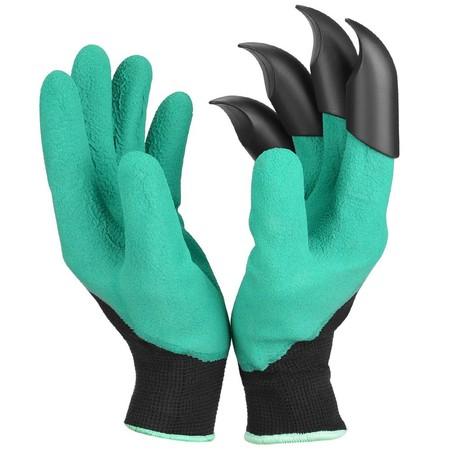 Oferta Flash en estos guantes de jardinería con garras: durante 36 horas cuestan 2,70 euros en Tinydeal