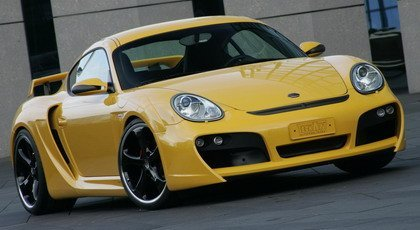 TechArt Widebody para el Porsche Cayman S
