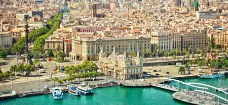 Vista aerea Barcelona