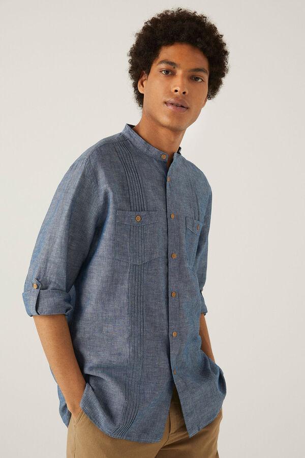Camisa lino mao