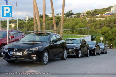 Mazda SKYACTIV: un millón de vehículos con 'rightsizing'