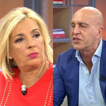 Carmen Borrego y Kiko Matamoros