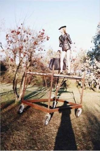 Foto de Más imágenes de la campaña de Marc Jacobs Primavera-Verano 2009 con Raquel Zimmerman (12/20)