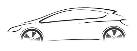 Primeros bocetos del futuro Opel Astra