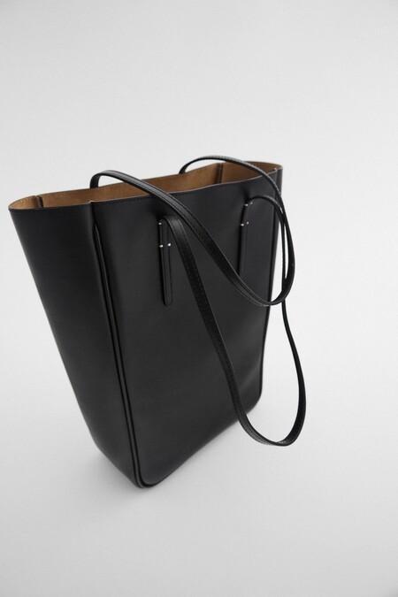 Bolso Piel Zara Xl 03
