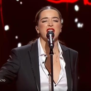 Lola Índigo exhibe en cada cita televisiva todo el talento que no pudo mostrar en OT 2017
