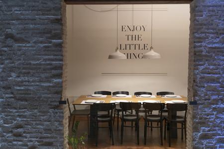 Oslo: un restaurante vegetariano, valenciano y con inspiración nórdica en su diseño