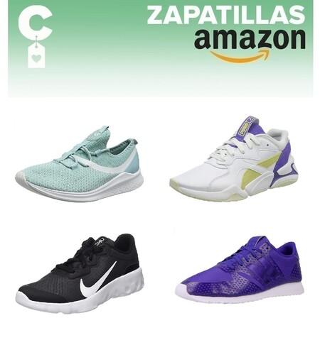 Chollos en tallas sueltas de zapatillas Nike, New Balance, Puma o Adidas por 35 euros o menos en Amazon