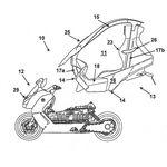 ¿Te acuerdas del poco exitoso C1? Pues BMW ha vuelto a patentar un techo para sus scooters, y ahora es modular