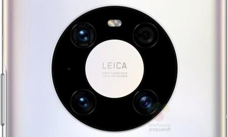 Huawei Mate 40 Pro Camara Renders Filtracion