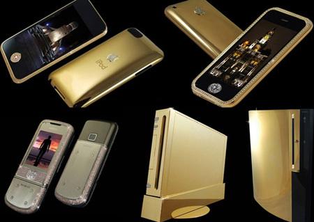 Gadgets Supreme de Stuart Hughes, oro y diamantes sin emoción