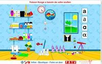 Poisson rouge, una página llena de recursos para los más pequeños