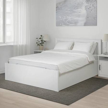Cama canapé Ikea con descuento