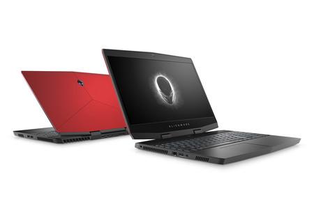 Alienware m15, el portátil 'gaming' menos pesado y grueso de Dell con pantalla 4K y las NVIDIA Max-Q