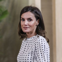 Doña Letizia repite look con su vestido preferido de Massimo Dutti