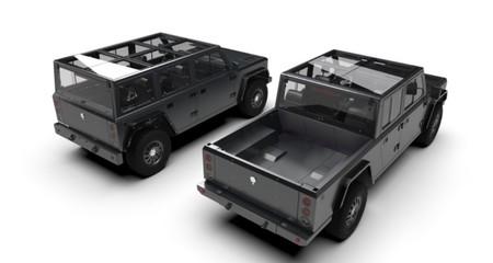 Los Bollinger B1 y B2 se presentan en septiembre: dos brutales todoterrenos eléctricos listos para producción