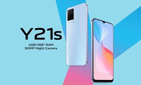 Vivo Y21S: golpeando en la gama económica a base de batería y diseño