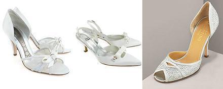 Zapatos para novias: los pies se visten para ir de boda